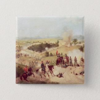 Molino del Rey、1847年9月8日の戦い 5.1cm 正方形バッジ