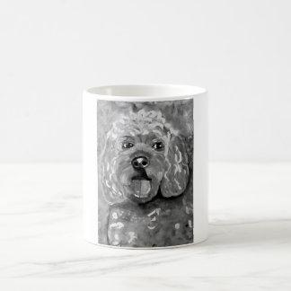 Molliesmugs、Cavapooのクラシックで白いマグの犬 コーヒーマグカップ