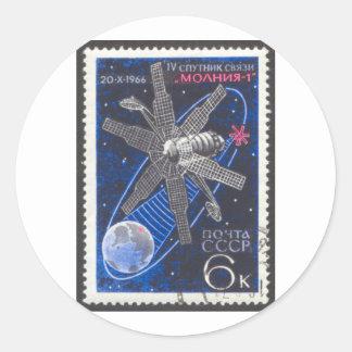 Molniyaの通信衛星 ラウンドシール