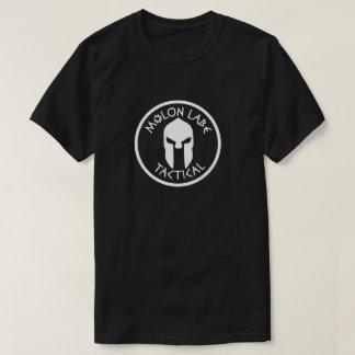 molonのlabeの戦術的な乗組員の黒 tシャツ