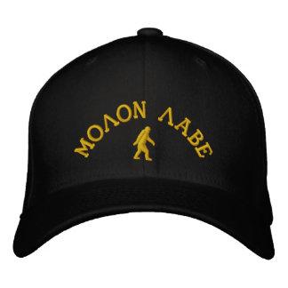 Molon Labeおよびロゴ 刺繍入りキャップ