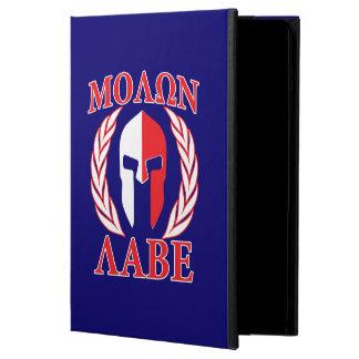 Molon Labeのスパルタ式のマスクの月桂樹の濃紺 iPad Airケース