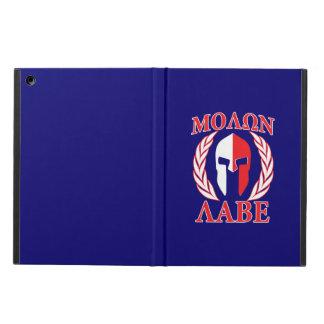 Molon Labeのスパルタ式の装甲月桂樹の三色 iPad Airケース