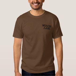 Molon Labeの刺繍 刺繍入りTシャツ