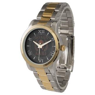 Molon Labeの鉄の戦士の月桂樹のダイヤル 腕時計