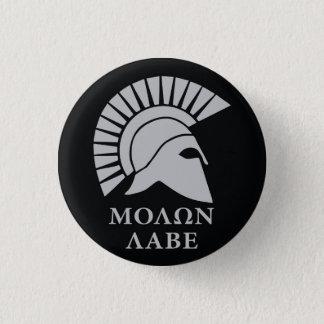 Molon Labeは、それらにvers01を取ります来ます 缶バッジ