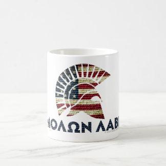 Molon Labe! コーヒーマグカップ