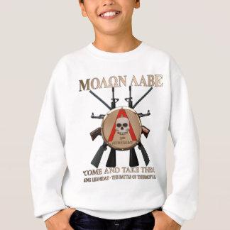 Molon Labe -スパルタ式の盾 スウェットシャツ