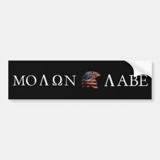 Molon Labe バンパーステッカー