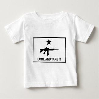 molon-labe ベビーTシャツ