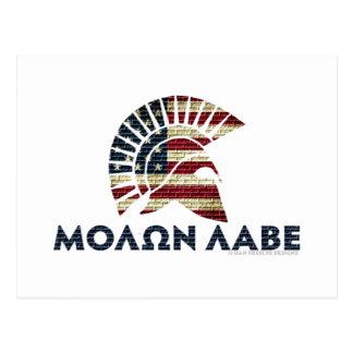 Molon Labe! ポストカード