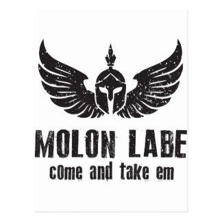Molon Labe ポストカード