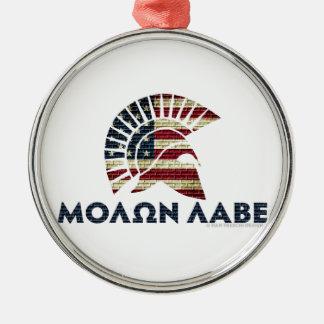 Molon Labe! メタルオーナメント