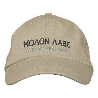 MOLON LABE 刺繍入りキャップ