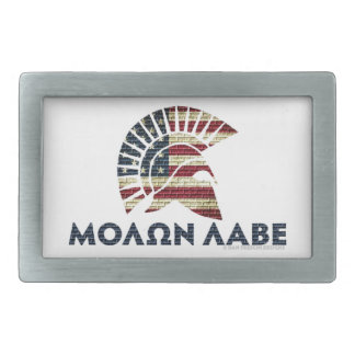 Molon Labe! 長方形ベルトバックル