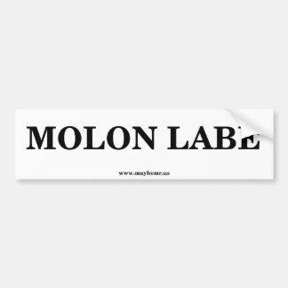 Molon Labe 1 バンパーステッカー