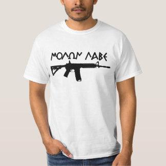 Molon Labe AR15 Tシャツ