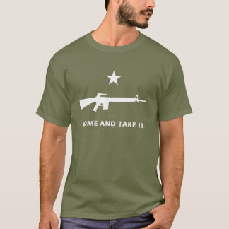 MOLON LABE M16 GONZALESの旗 Tシャツ