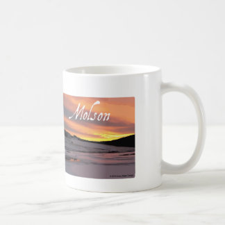 Molson湖の日の出 コーヒーマグカップ