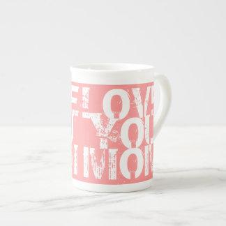 MOMのマグ愛して下さい 磁器製マグカップ