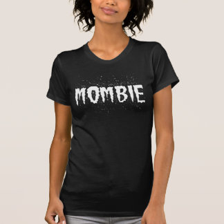 Mombieの黒 Tシャツ