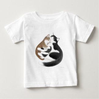 Momcatの乳児のTシャツ ベビーTシャツ