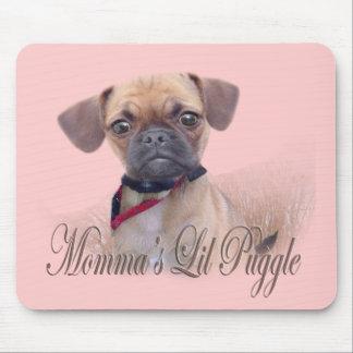 MommaのLil Puggle マウスパッド