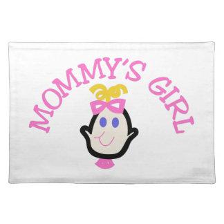 Mommysの女の子 ランチョンマット