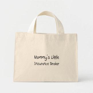 Mommys少し保険仲介人 ミニトートバッグ
