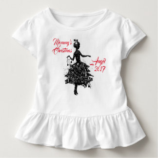 Mommy's Christmas Angel 2017 トドラーTシャツ