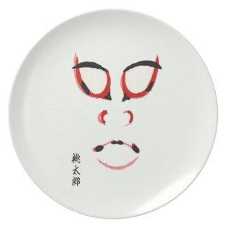Momotaro Kabuki プレート