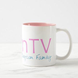 MomTVのカスタマイズツートーンマグ ツートーンマグカップ