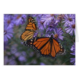 Monarch Butterfly カード