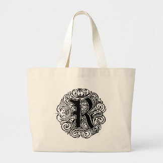 "Monarchia ""R "" ラージトートバッグ"