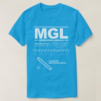 Mönchengladbach空港MGL Tシャツ