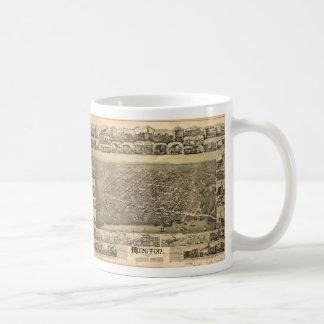 Monctonニューブランズウィックカナダ(1888年) コーヒーマグカップ