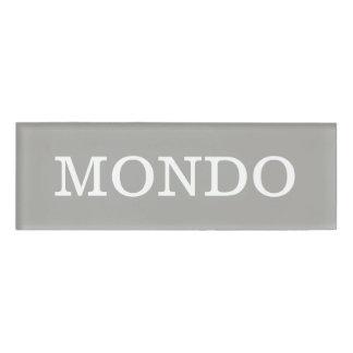 MONDOの名札 名札