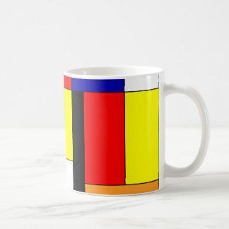 Mondriaan #9 コーヒーマグカップ