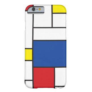 Mondrian Minimalist De Stijl ArtのiPhoneの場合 Barely There iPhone 6 ケース