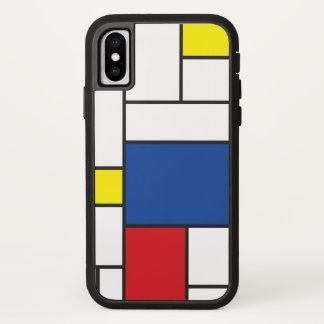 Mondrian Minimalist De Stijl ArtのiPhoneの場合 iPhone X ケース