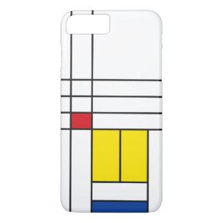 Mondrian Minimalist De Stijl ArtのiPhone 4の穹窖 iPhone 8 Plus/7 Plusケース