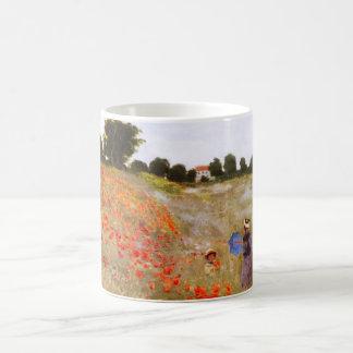 Monetのケシのマグ コーヒーマグカップ