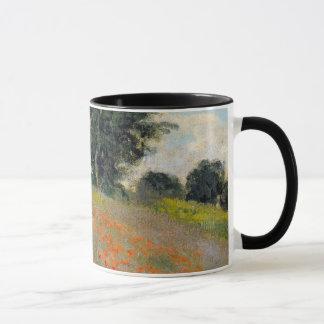 Monetのケシのマグ マグカップ