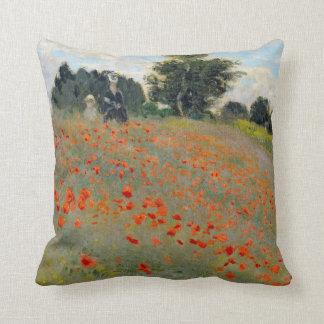 Monetのケシの枕 クッション