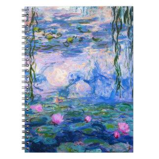 Monetのスイレンのノート ノートブック