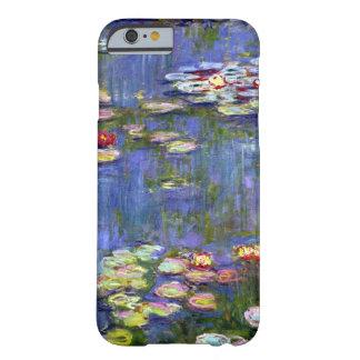 Monetのスイレンの池のファインアート Barely There iPhone 6 ケース