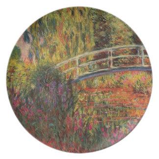 Monetのスイレンの池 プレート