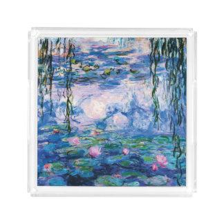 Monetのスイレン アクリルトレー