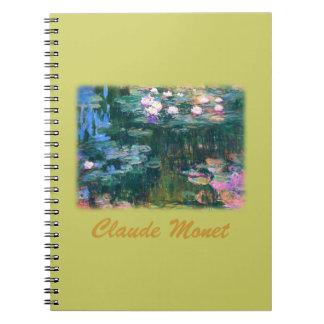 Monetのスイレン ノートブック