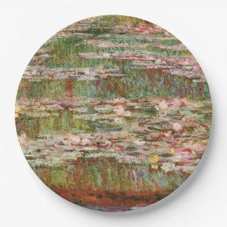 Monetのスイレン ペーパープレート
